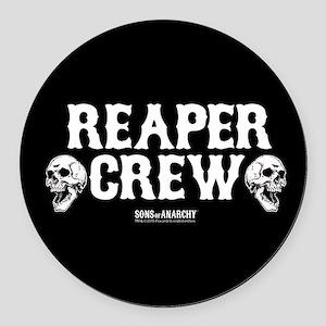 SOA Reaper Crew Round Car Magnet