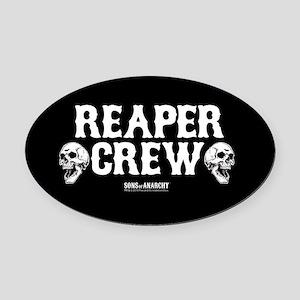 SOA Reaper Crew Oval Car Magnet
