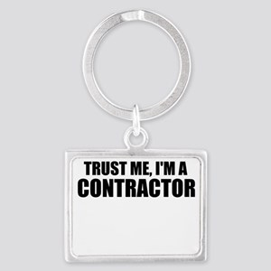 Trust Me, I'm A Contractor Keychains
