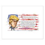 Gop Trump Card Small Poster