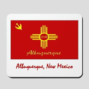 Albuquerque NM Flag Mousepad