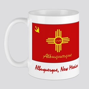 Albuquerque NM Flag Mug