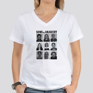 SOA Mugshots Women's V-Neck T-Shirt