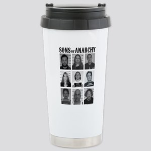 SOA Mugshots Stainless Steel Travel Mug