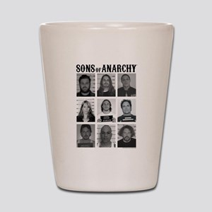 SOA Mugshots Shot Glass