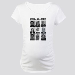 SOA Mugshots Maternity T-Shirt