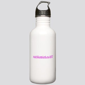 Neurobiologist Pink Fl Stainless Water Bottle 1.0L
