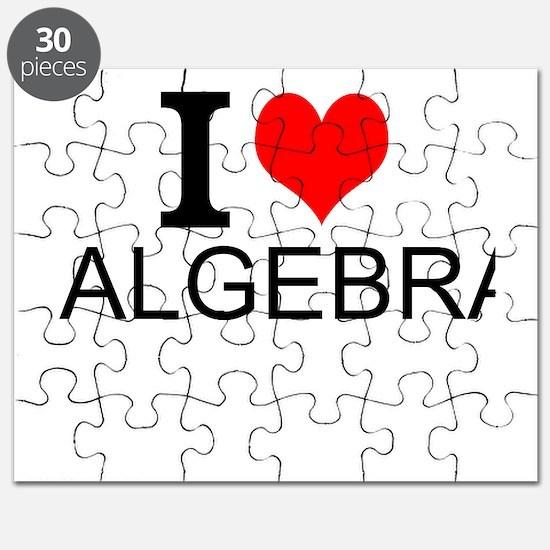 I Love Algebra Puzzle