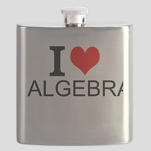 I Love Algebra Flask
