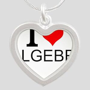 I Love Algebra Necklaces