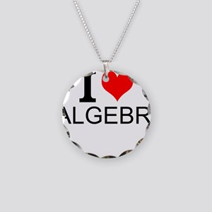 I Love Algebra Necklace