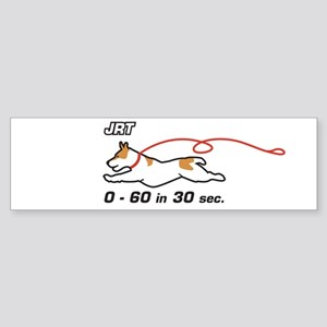 JRT 0-60 Bumper Sticker
