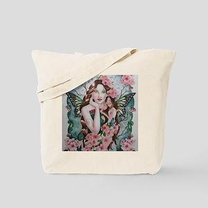 Cherry blossom fairy faerie fantasy  Tote Bag