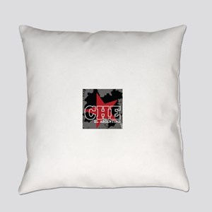2-CHE EL ARG BLK Everyday Pillow