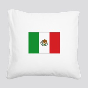 3-MEXICO Square Canvas Pillow
