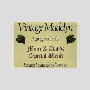 Vintage Madelyn Rectangle Magnet (10 pack)