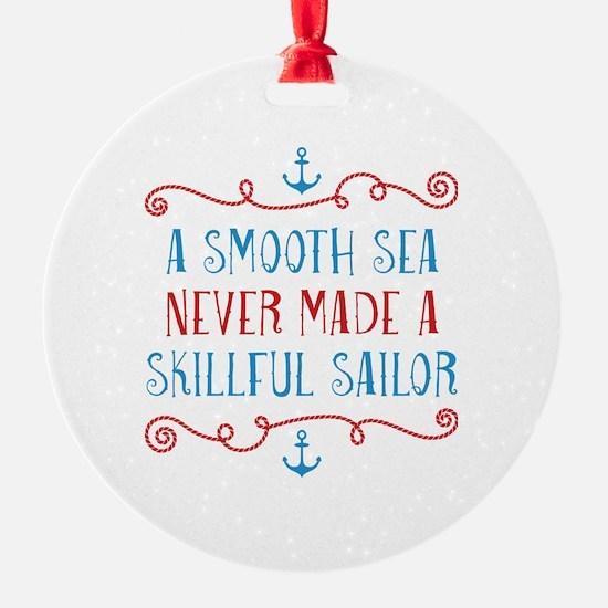 Skillful Sailor Ornament