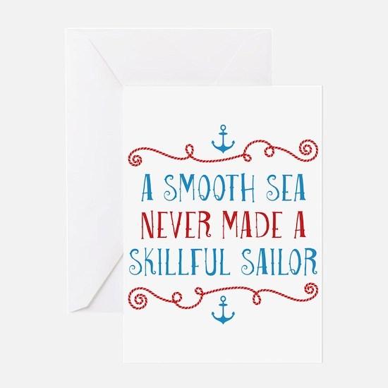 Skillful Sailor Greeting Card