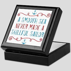 Skillful Sailor Keepsake Box