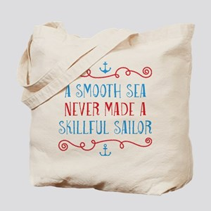 Skillful Sailor Tote Bag
