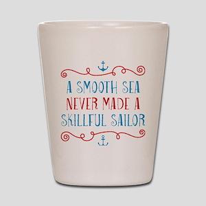 Skillful Sailor Shot Glass