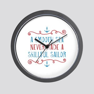 Skillful Sailor Wall Clock