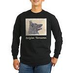 Belgian Tervuren Long Sleeve Dark T-Shirt