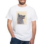 Belgian Tervuren White T-Shirt