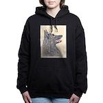 Belgian Tervuren Women's Hooded Sweatshirt