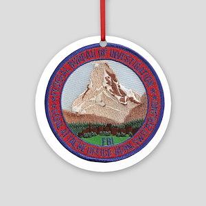 FBI Bern Switzerland Round Ornament