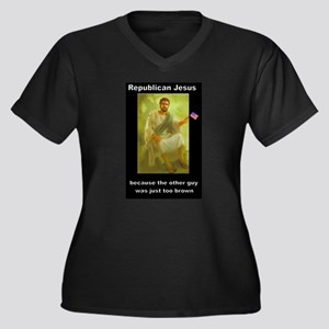 Republican Jesus Plus Size T-Shirt