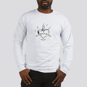 Music to your Soul Long Sleeve T-Shirt