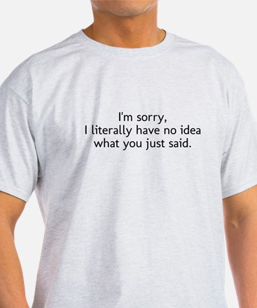 Lost attention span T-Shirt