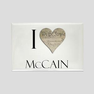 I Heart McCain Rectangle Magnet