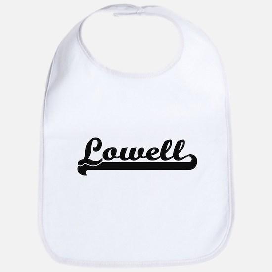 I love Lowell Massachusetts Bib