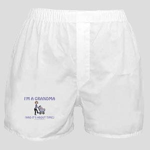 I'm A Grandma Boxer Shorts