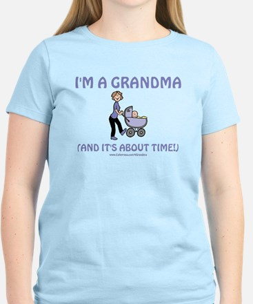 I'm A Grandma Women's Light T-Shirt