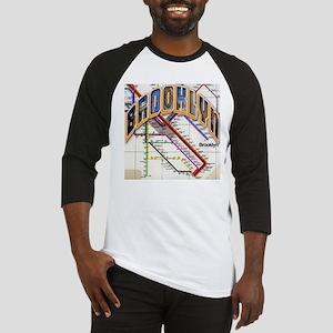 brookly logo Baseball Jersey
