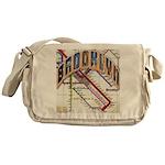 brookly logo Messenger Bag