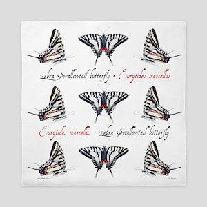 Zebra Swallowtail Queen Duvet