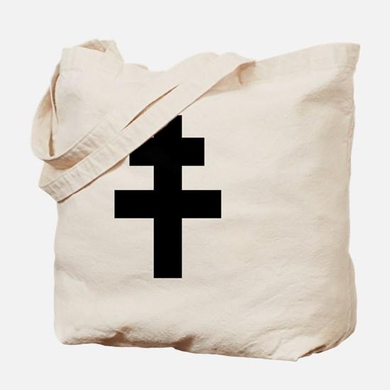 Funny St andrew cross Tote Bag