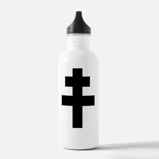 Cute St andrew%27s cross Water Bottle