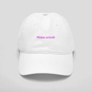Prison Officer Pink Flower Design Cap
