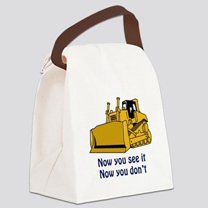 Now You See It Canvas Lunch Bag