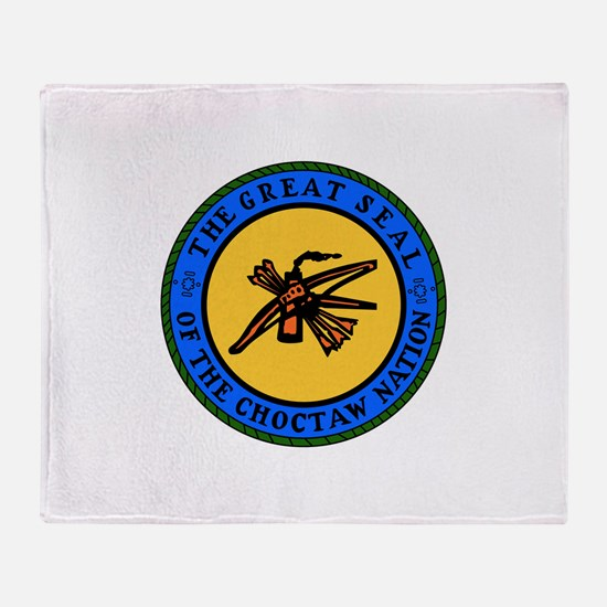 Choctaw Nation Throw Blanket