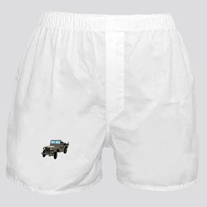 WWII Army Jeep Boxer Shorts