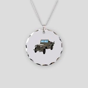WWII Army Jeep Necklace