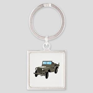 WWII Army Jeep Keychains