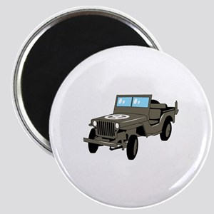 WWII Army Jeep Magnets
