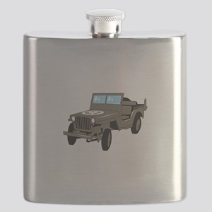 WWII Army Jeep Flask